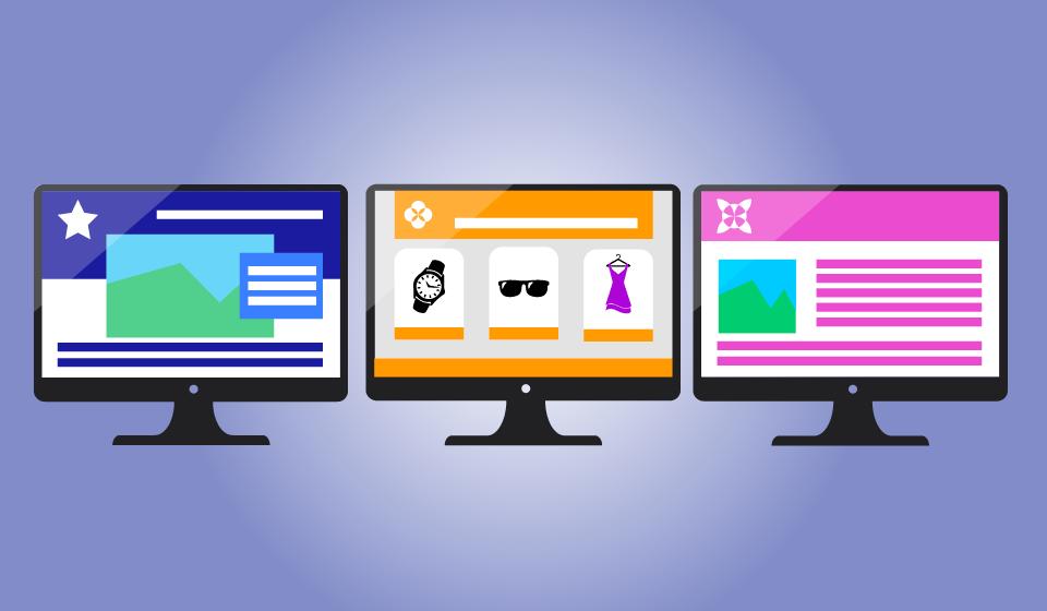 Tipos de páginas web de empresa